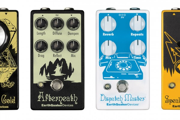 Earthquaker Devices Introduces V2 Updates of Dispatch Master, Speaker Cranker, Acapulco Gold, and Afterneath Pedals
