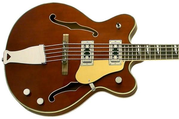 Eastwood Custom Shop Unveils the Classic 5 Bass