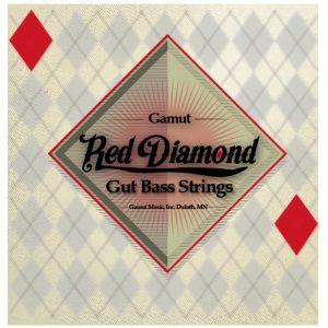 Gamut Music Red Diamond Bass Strings