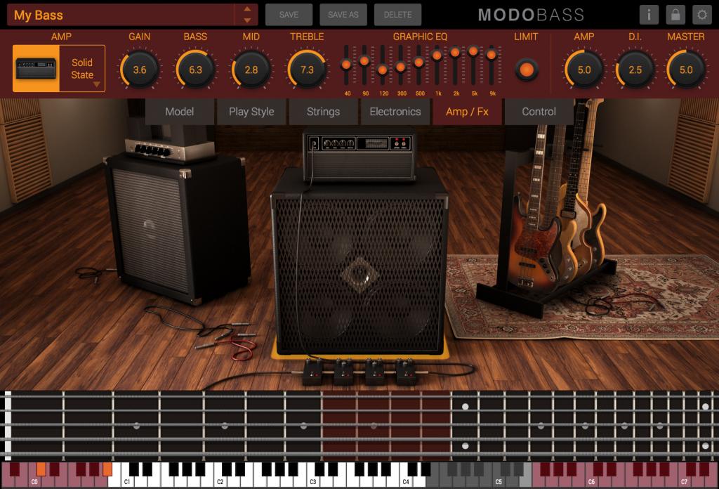 IK Multimedia MODO Bass Virtual Instrument