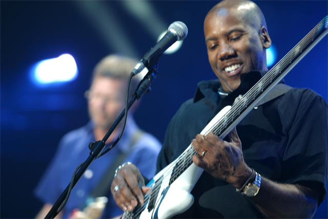 Nathan East with Eric Clapton