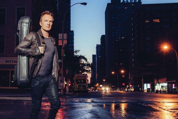 """Sting Releases """"57th and 9th"""", Announces World Tour"""