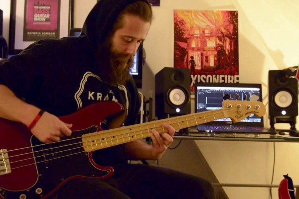 """Christian Sturgess: Brutai's """"Of Ashes"""" Bass Playthrough"""