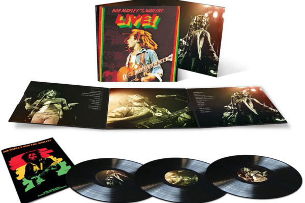 """Bob Marley and the Wailers """"Live!"""" Album Reissued"""