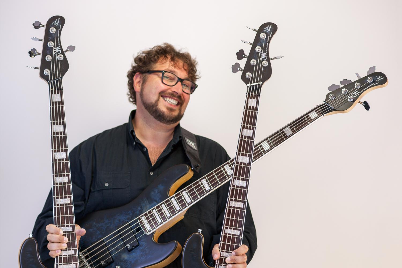 Federico Malaman with basses