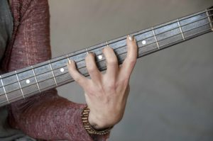 One Finger Per Fret Illustrated