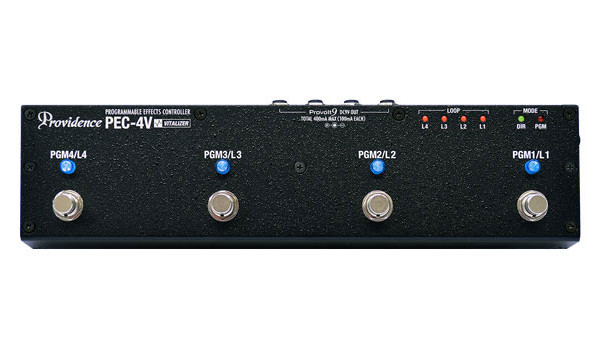 Providence Introduces PEC-4V Programmable Effects Controller