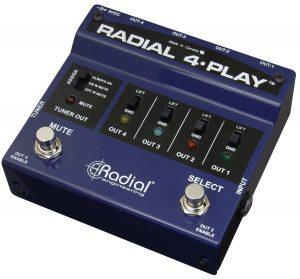 Radial Engineering 4-Play Direct Box