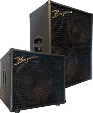 Bergantino Audio Reference Series Speaker Cabinets