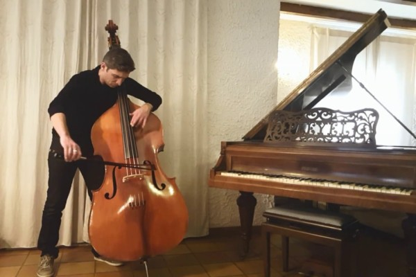 """Jean-Baptiste Salles: Radiohead's """"Exit Music"""" for Double Bass"""