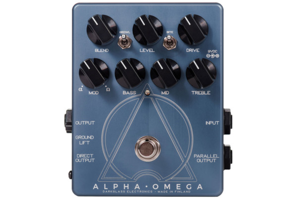 Darkglass Electronics Introduces the Alpha Omega Distortion Pedal