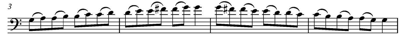 Finger Substitutions - Ex. 2
