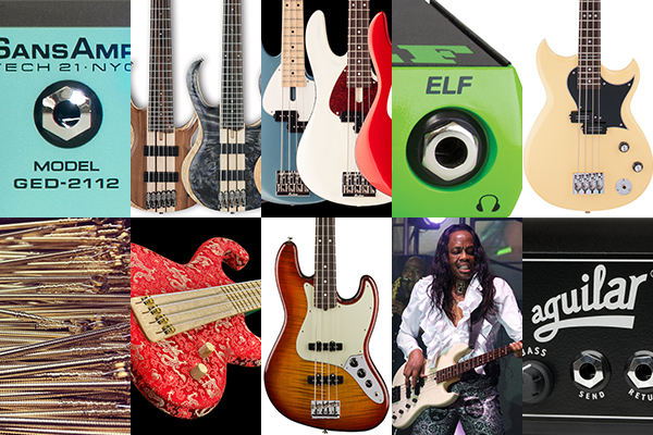 Bass Gear Roundup: The Top Gear Stories in January 2017