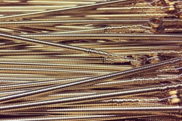 La Bella Strings Introduces Gold Flats