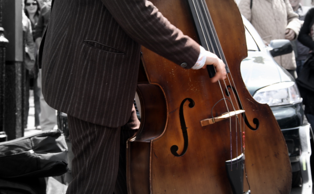 Double Bass Player's Right Hand