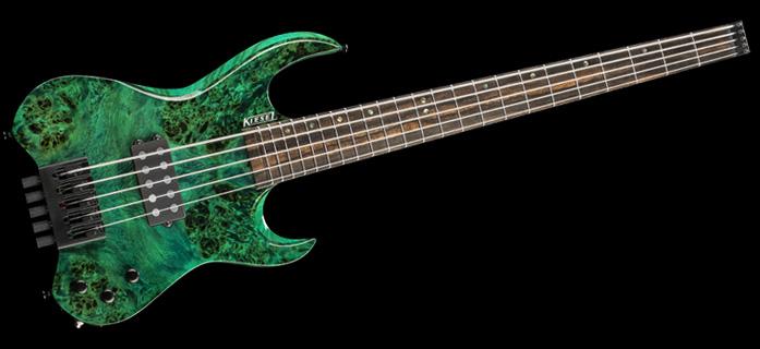 Kiesel Guitars Vader AW5 Signature Headless Bass