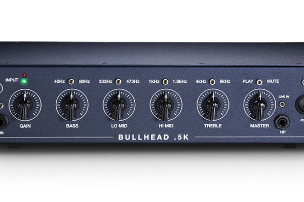 Trickfish Amplification Now Shipping the Bullhead .5K Bass Amp