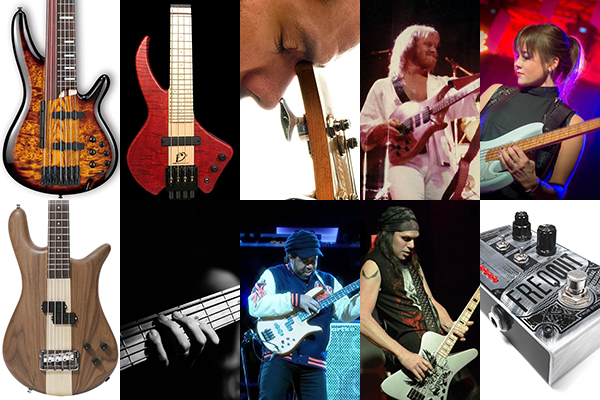 Weekly Top 10: New Bass Gear, Remembering Steve Lang and Elliott Rubinson, Victor Wooten Live, Making Time for Practice and More