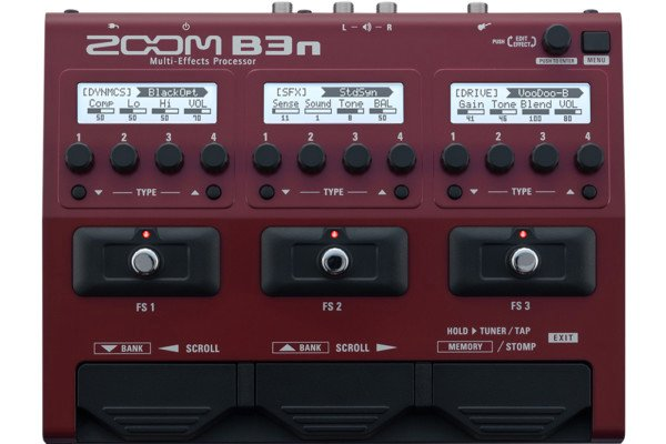 Zoom Introduces B3n Multi-Effects Processor