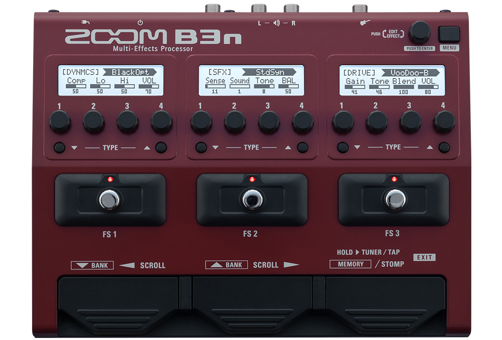 Zoom B3n Multi-Effects Processor