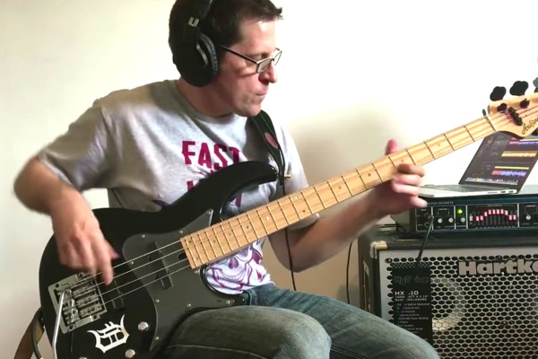 """Brad Russell: Steve Vai's """"The Attitude Song"""" on Bass"""