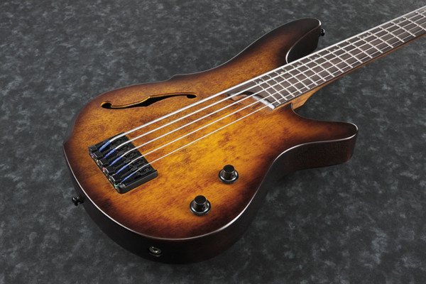 Ibanez Introduces the SRH Semi-Hollow Bass