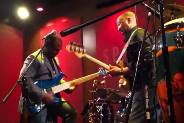 Alex Al and Darryl Williams: Funky Bass Duet