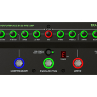 Trace Elliot Announces the Transit B Bass Guitar Preamp Pedal