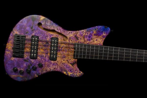 Bass of the Week: Alpher Instruments Mako Elite Thinline 5-String