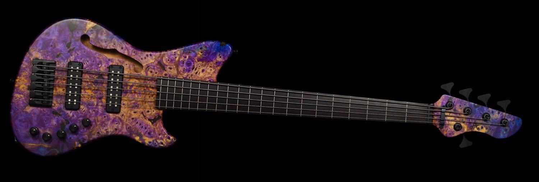 Alpher Instruments Mako Elite Thinline 5-String Bass