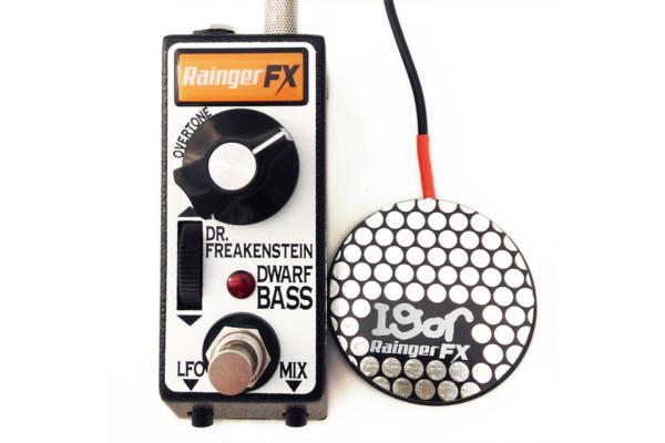 Rainger FX Introduces Dr. Freakenstein Dwarf Bass Distortion