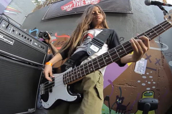 Robert Trujillo's 12-Year-Old Son to Tour with Korn