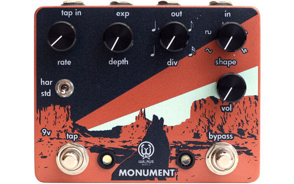 Walrus Audio Introduces Monument Harmonic Tap Tremolo