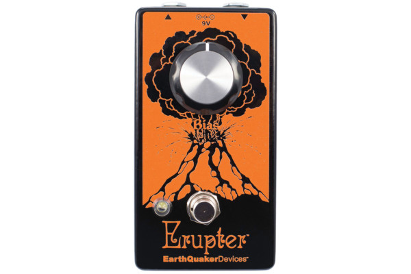 Earthquaker Devices Launches the Erupter Fuzz Pedal