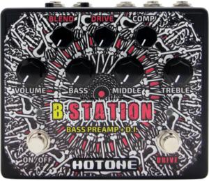 Hotone Audio B Station Bass Preamp/DI