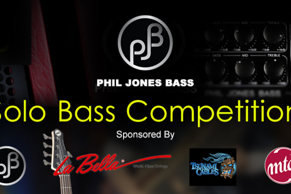 Phil Jones Bass Hosts Second Solo Bass Competition