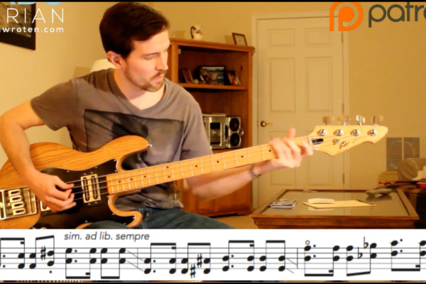 "Bass Transcription: Ben Shepherd's Bass Line on Soundgarden's ""Pretty Noose"""