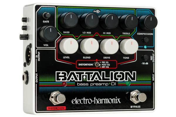 Electro-Harmonix Unveils the Battalion Bass Preamp