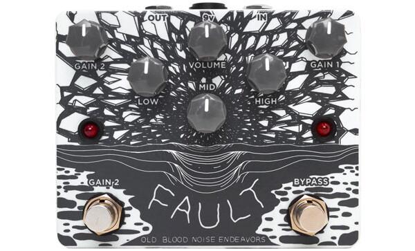 Old Blood Noise Endeavours Announces Fault Overdrive/Distortion Pedal