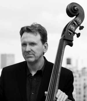 Tom Kennedy with double bass
