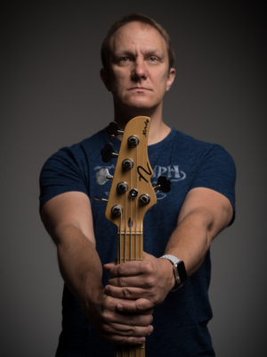 Carey Nordstrand with bass