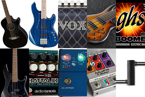 Bass Gear Roundup: The Top Gear Stories in June 2017