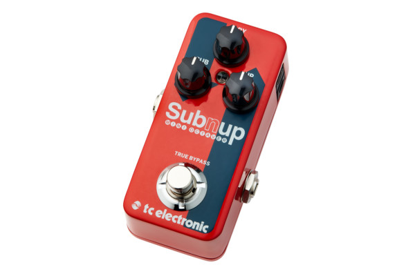 TC Electronic Announces the Sub 'N' Up Mini Octaver