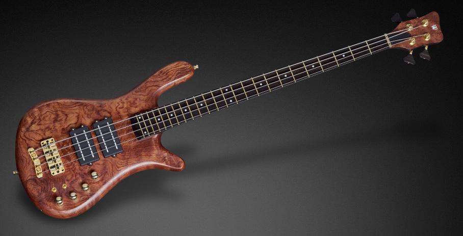 Warwick Custom Shop Masterbuilt Bass Streamer Stage II