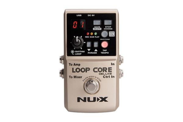 Nu-X Announces Loop Core Deluxe Pedal