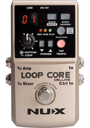 Nu-X Loop Core Deluxe Pedal