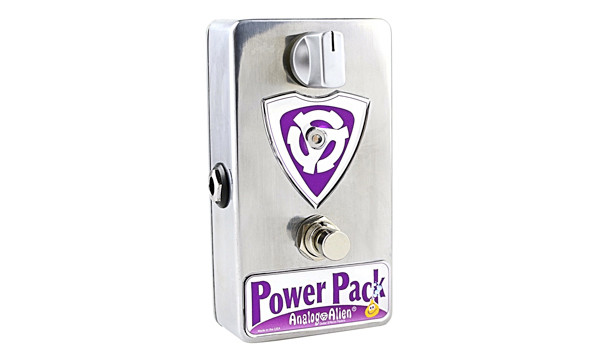 Analog Alien Now Shipping the Power Pack Boost Pedal