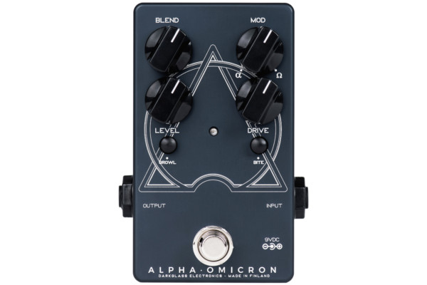 Darkglass Electronics Introduces the Alpha Omicron Pedal