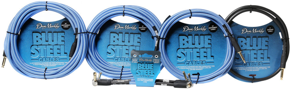 Dean Markley Blue Steel Cables