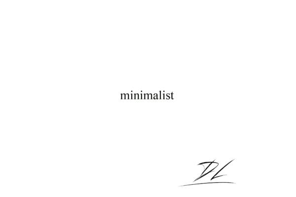 "Dmitry Lisenko Releases ""minimalist"""
